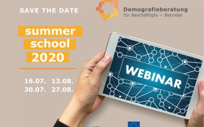 Kostenlose Webinarreihe: Die DB-Summerschool ist zurück