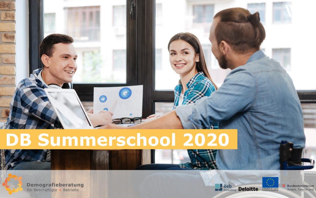 Die DB-Summerschool 2020 im Überblick