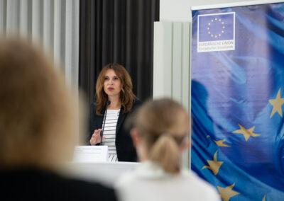 Alexandra Weilhartner, Projektleitung Demografieberatung (c) Daniel Shaked 2021