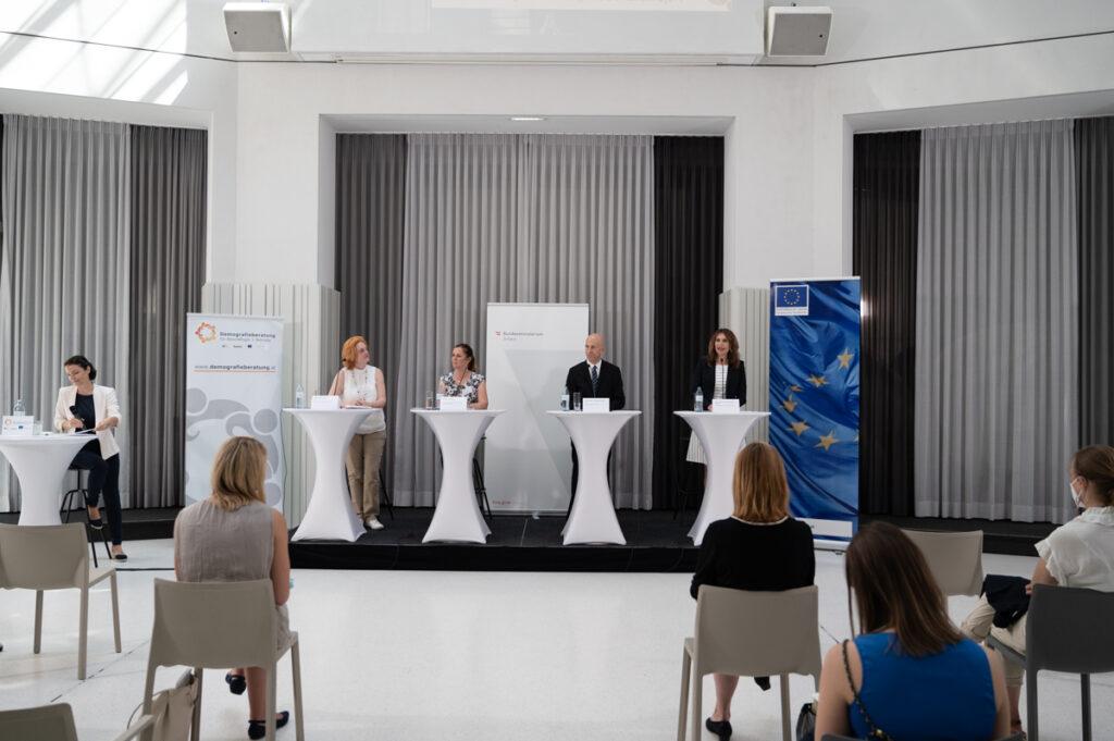 Pressekonferenz Demografieberatung (c) Daniel Shaked 2021